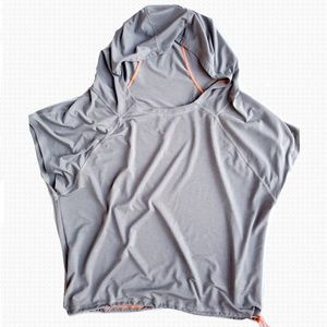 Athleta Cowl Neck Hooded Top